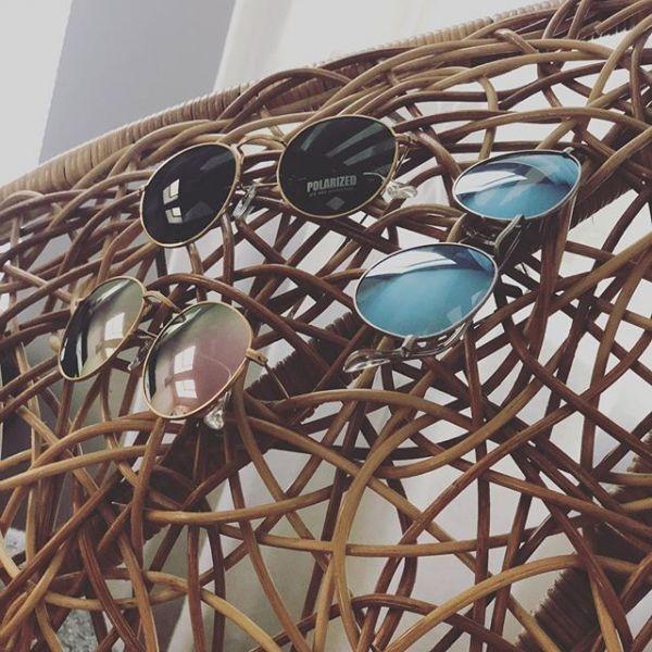 tendencias en gafas de sol, tipos de lentes