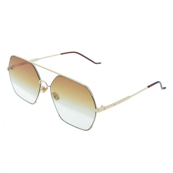 gafas de sol unisex oro
