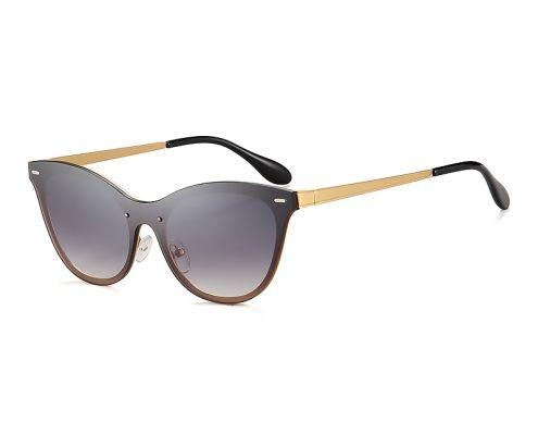 gafas de sol mariposa marron