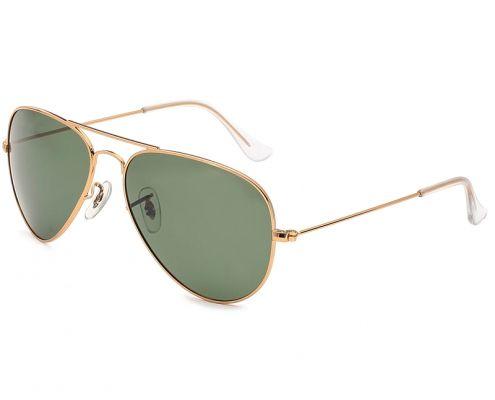 gafas de sol aviador verde