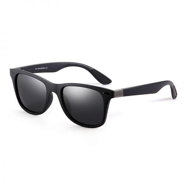 gafas de sol de pasta gris