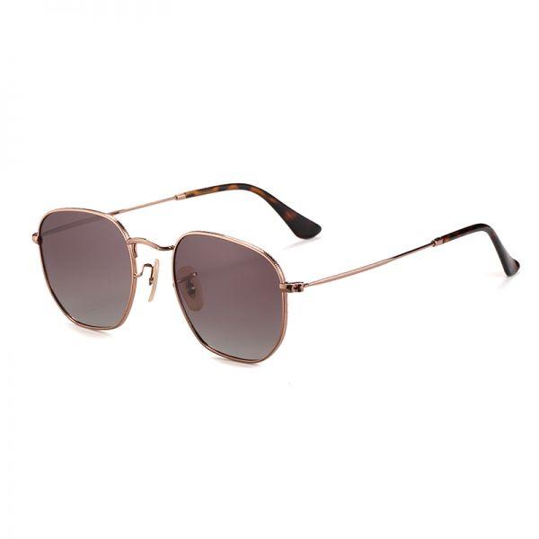 gafa de sol polarizada marrón