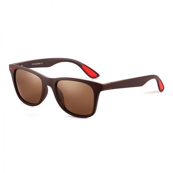 gafas de sol polarizadas marrón