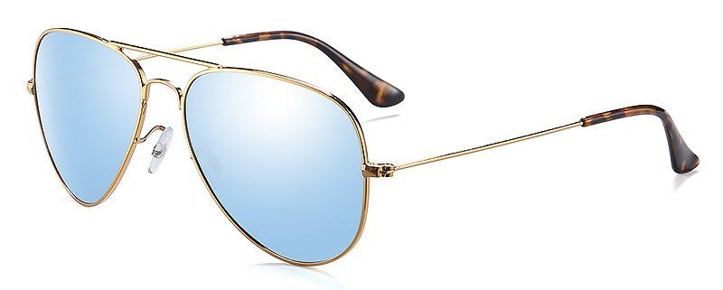 gafas de sol azul claro, gafas de sol vintage