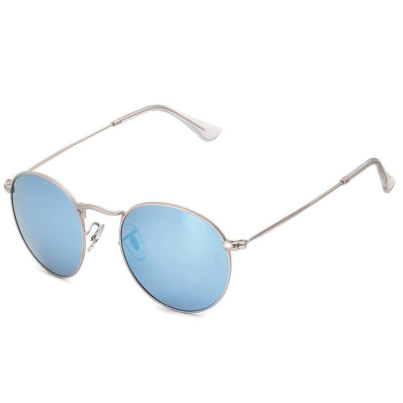 497647648 Gafas de sol vintage azul Metal Vintage by EMPORIO SPORT Collection