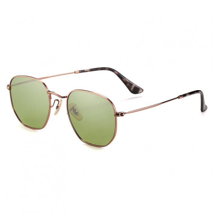 gafas de sol polarizadas verdes