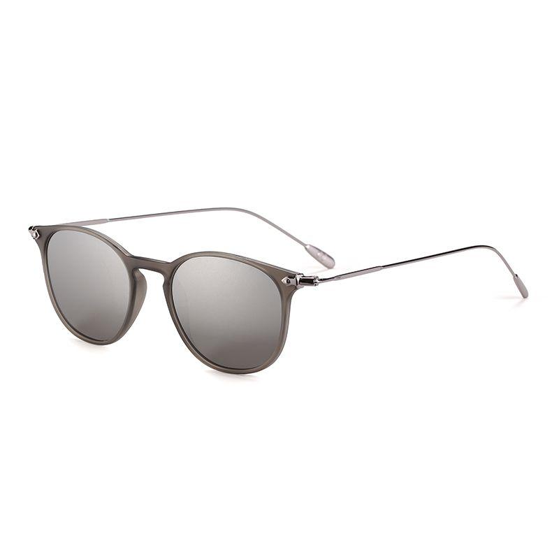 2aca4c45bf Gafas de sol unisex plata de pasta y metal polarizadas, EMPORIO SPORT