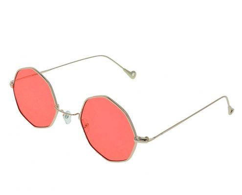 gafas de sol vintage rojas