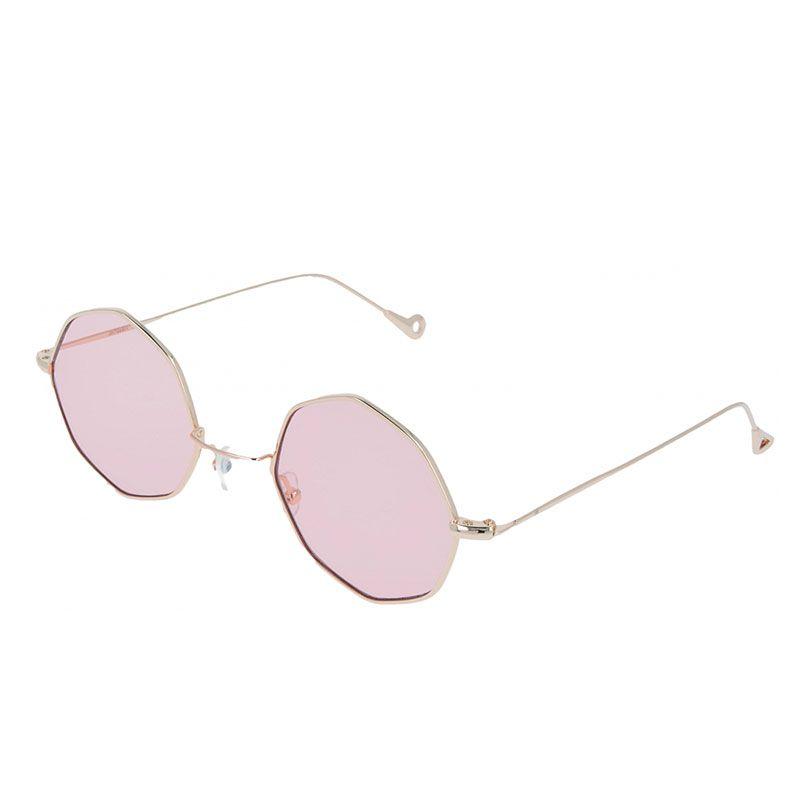 0c2946b7a ... Emporio Sport / OCTAGONAL VINTAGE ROSA. gafas de sol rosas